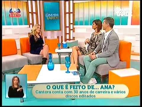 """Ana no """"Grande Tarde"""" surpreendida por Mónica Sintra e Ana Rita"""