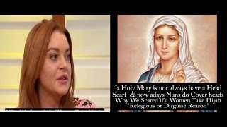 Lindsy Lohan Discussing about her Converting To ISLAM and her Hijab