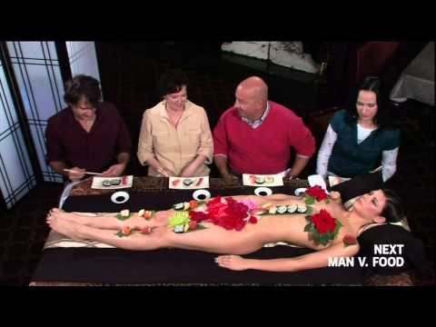 Sexy Sushi Presentation