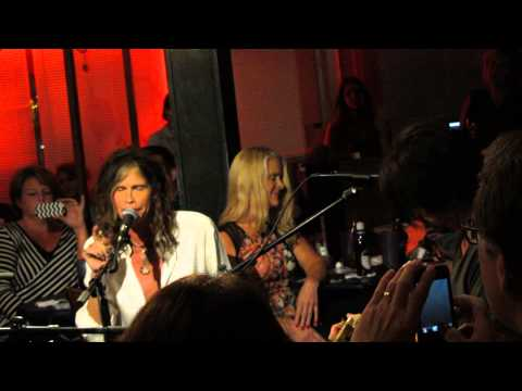 Steven Tyler Performs Jaded At Bluebird Cafe