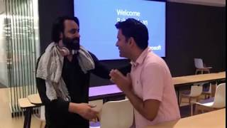 Babbu Maan at Microsoft Headquarters USA 2018
