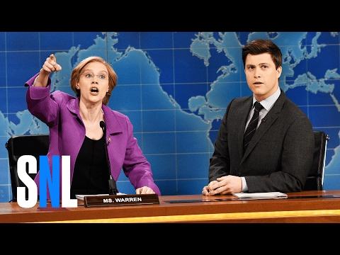 Weekend Update: Senator Elizabeth Warren - SNL