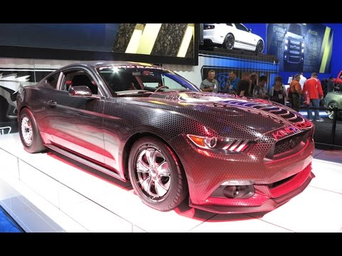 2015 Ford Mustang GT King Cobra - 2014 SEMA Show - YouTube
