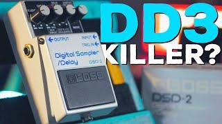 A HIDDEN GEM FROM BOSS! 1986 MIJ Boss Digital Sampler/Delay DSD-2
