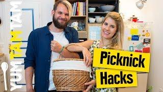 Picknick Hacks // 5 Tricks für dein Picknick // #yumtamtam