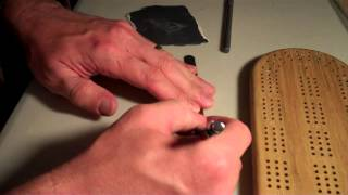 Making A Cribbage Board Part 2