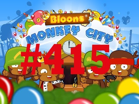 Bloons Monkey City 415 City 2 Cool Free Musik - [ Deutsch | Gameplay | Let's Play | Mobile ] - TD