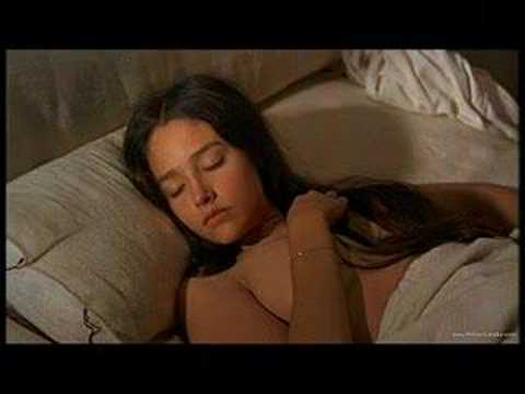 olivia hussey romeo and juliet bed