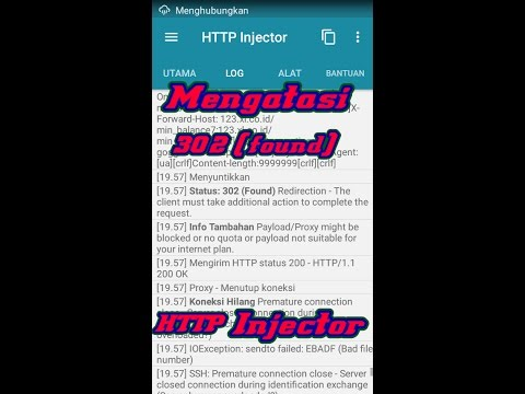 Cara mengatasi eror 302 (found) http injektor