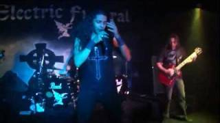 Electric Funeral -Turn Up The Night (Black Sabbath Cover) Live in Aldeia Bar.Jundiaí/SP  01/10/2011