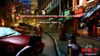 Darkness 2 (II) Demo Gameplay - PC Version Max Settings