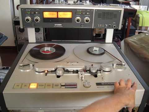 Sepea Audio Renovation Jobs: Vintage Reel Tape Recorder Studer A 80 (August 2018)