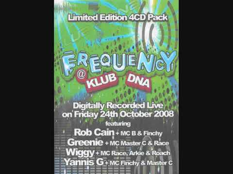 Frequency @ Klub DNA 24th October 2008 CD 1