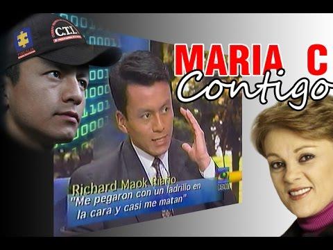 Un año antes de ser hackerFiscalia fui invitado a 'Maria C. Contigo' @CaracolTV