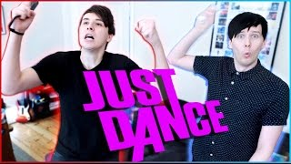 One of DanAndPhilGAMES's most viewed videos: Dan and Phil play JUST DANCE