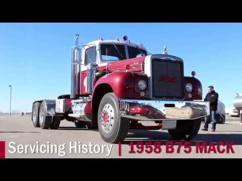 Mack Truck For Sale >> Servicing History: 1958 B75 Mack Truck - YouTube