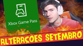 NOVOS JOGÕES NO XBOX GAME PASS [Atualizado SETEMBRO]