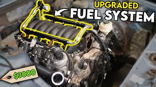 homepage tile video photo for Installing a $3000 UPGRADED FUEL SYSTEM on my $800 Dollar SLEEPER...