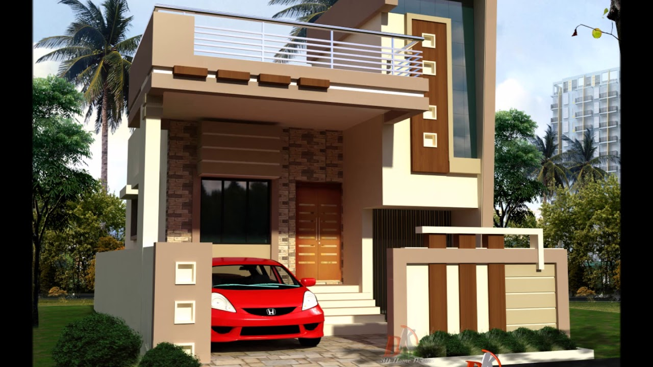 Front Elevation Images For Small Houses : Small front house designs youtube