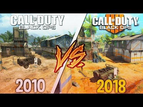 COD Black Ops 4 Map Comparison! (BO1 vs BO2 vs BO4)