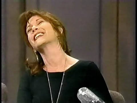 Carrie Fisher on Late Show, April 5, 1994