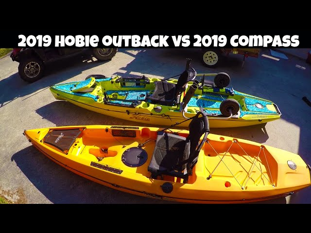 On Water 2019 Hobie Compass vs 2019 Hobie Outback