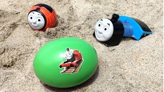 thomas and friends toy trains james disney cars mcqueen egg surprise
