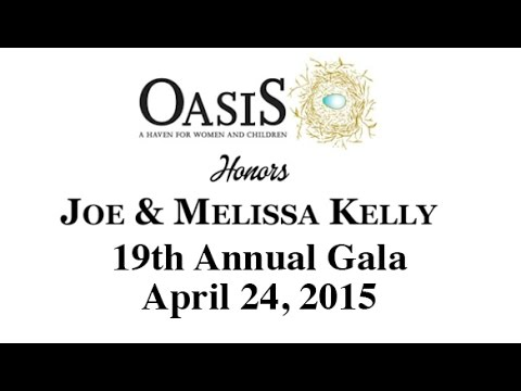 Oasis, A Haven for Women and Children 19th Annual Gala, April 24, 2015