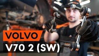 Kā nomainīt aizmugurējie stabilizatora atsaite VOLVO V70 2 (SW) [AUTODOC VIDEOPAMĀCĪBA]