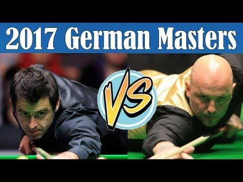 Ronnie O'SULLIVAN vs Mark KING Snooker German Masters 2017
