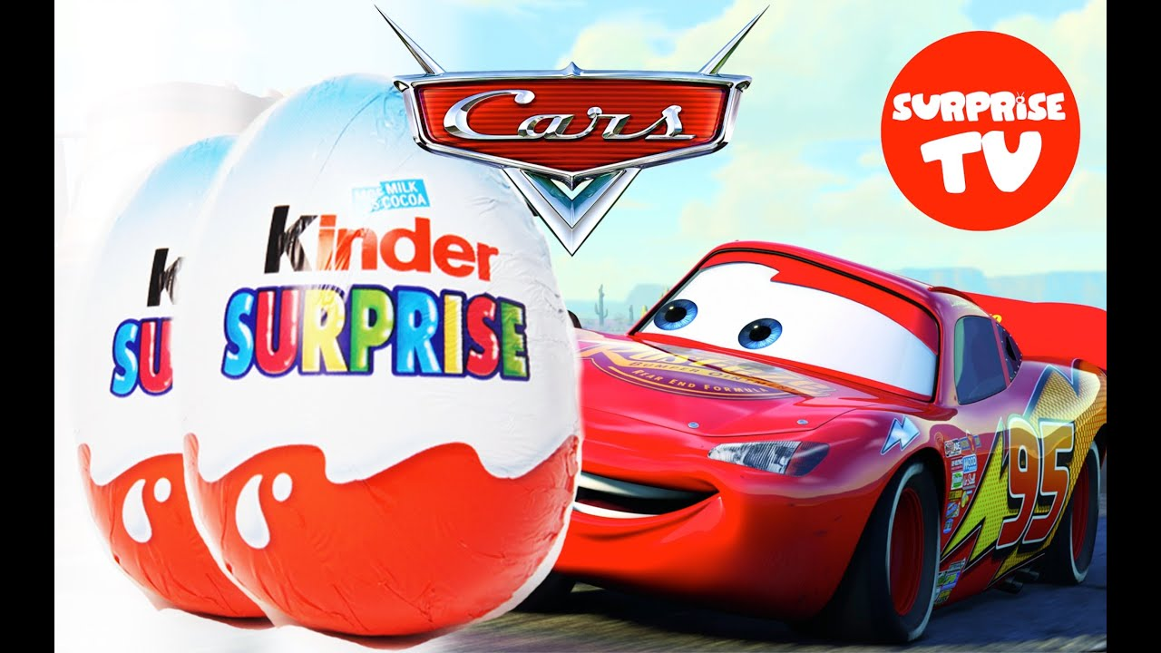 2 Disney Cars Surprise Eggs Really Fun Toys Inside Unboxing