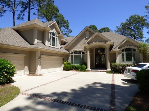 Hilton Head Plantation Home For Sale With Four Bedrooms, Garage For Three Cars And Golf Course View