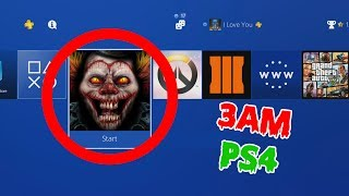 DO NOT PLAY PS4 AT 3AM! (GONE WRONG)