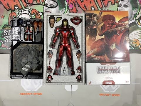 Unboxing - DIECAST MARK 46 Iron Man from Civil War by Hot Toys