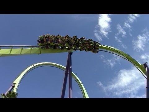 Medusa off-ride HD Six Flags Discovery Kingdom