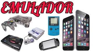 Emulador No IPhone IPad E IPod De Gameboy, Snes, Mega Drive, PS1 E PSP SEM JAILBREAK !