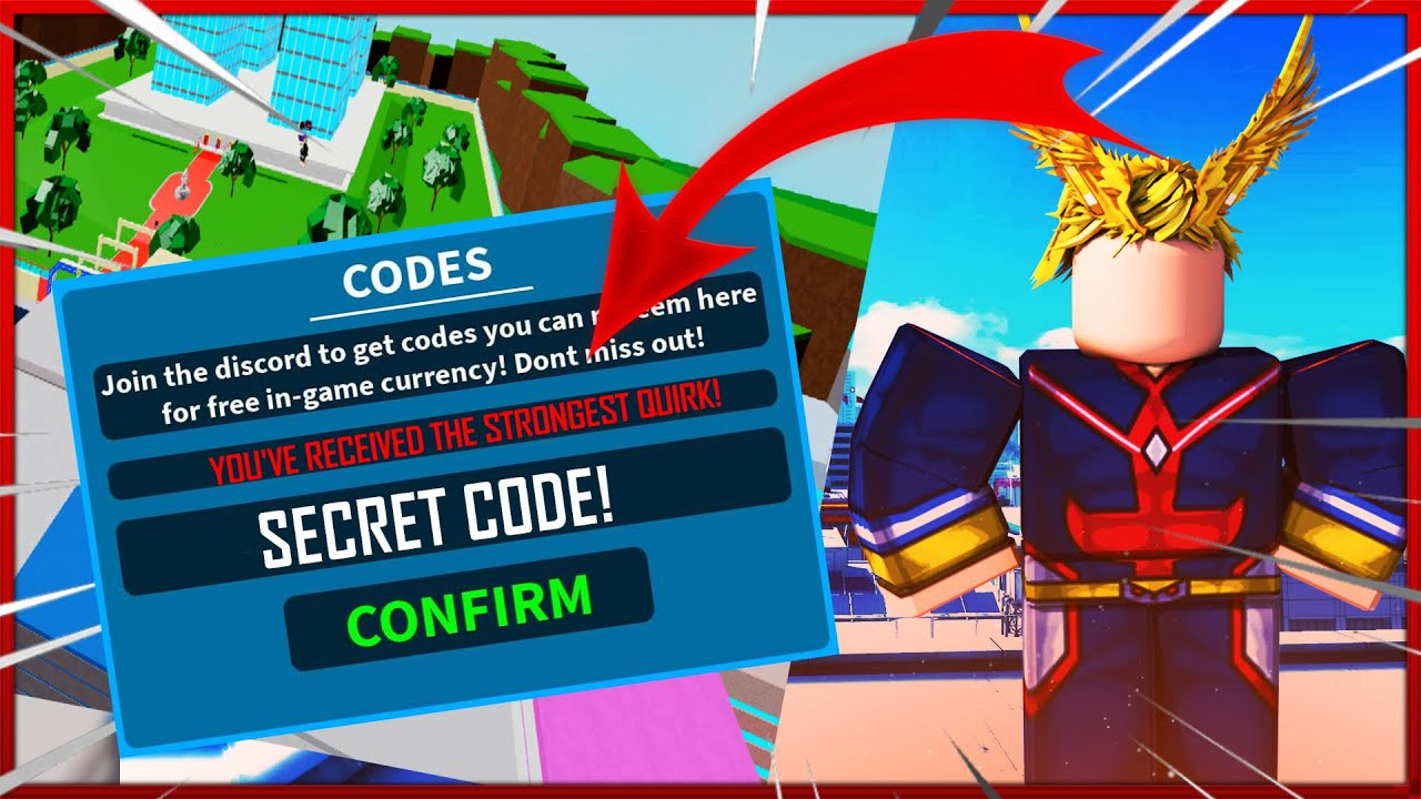 ⭐THIS *SECRET CODE* GAVE ME THE STRONGEST QUIRK IN BOKU NO ...