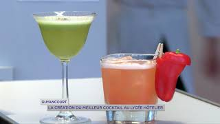 Guyancourt : la création du meilleur cocktail au lycée hôtelier