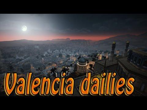 Black Desert Online Valencia  | Misiones Diarias 2400 Contribution Exp  Valencia parte 2