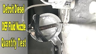 How to fix DEF metering valve on freightliner cascadia clear