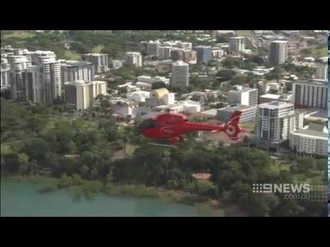 Nine News Darwin - New Charles Darwin Park Helicopter Tours