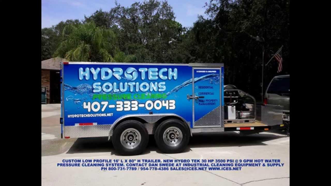 Hot Water Pressure Washer With Diesel Engine Tank Skid Package 4 0 Gpm besides Watch also Watch besides Auto Detailing Trailer 9800 in addition Watch. on pressure washing trailer