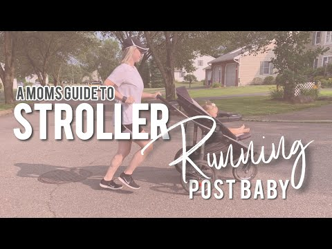 RUNNING WITH A STROLLER POST BABY WEIGHTLOSS (What I Wish I Knew)