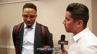 """ANDRE WARD """"YOU WANT TO BE THE BEST WELTERWEIGHT IN THE WORLD? YOU GOTTA SEE TERENCE CRAWFORD!"""""""