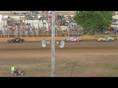 7 28 18 Bailey Hicks Memorial Bomber Heat #2 Lincoln Park Speedway