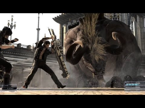 "Final Fantasy XV GAMEPLAY - Official E3 2013 Trailer ""Final Fantasy 15"" ""Final Fantasy XV"""