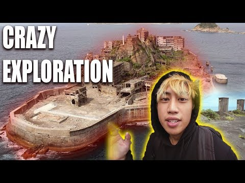 Exploring Abandoned CITY Gunkanjima BATTLESHIP ISLAND