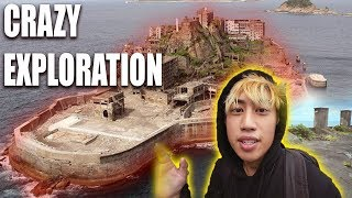 Exploring JAPANS Abandoned BATTLESHIP ISLAND (GUNKANJIMA)