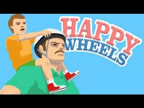 Happy Wheels #2 MY POOR SON!!!