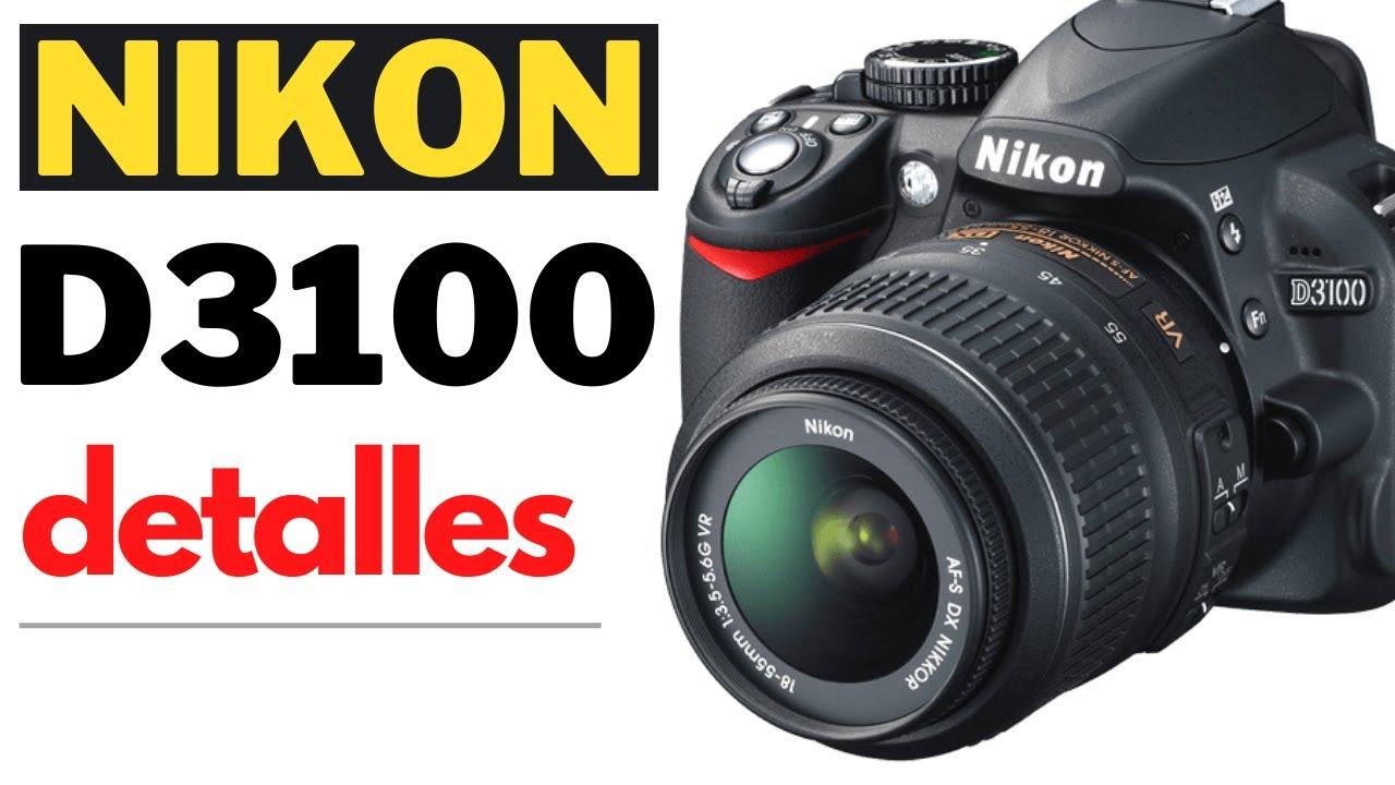 Nikon D3100 - Especificaciones   Curso Completo - YouTube